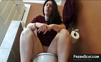 Latina shitting a lot