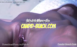 I love watching naked pussies on the beach Shared on VoyeurTubeVideos.com