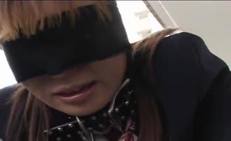 Tied teen forced to poop in her panties