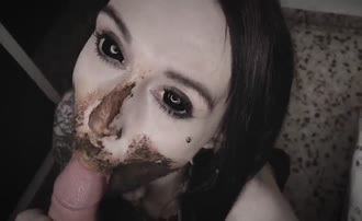 Facial for dark haired teen